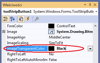 toolStriButton transparent image visual studio c#