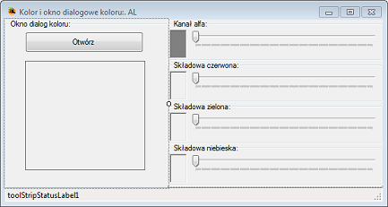 ColorDialog Visual Studio C#