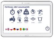 Kalkulator jednostek fizycznych (tablet, smartfon, telefon)